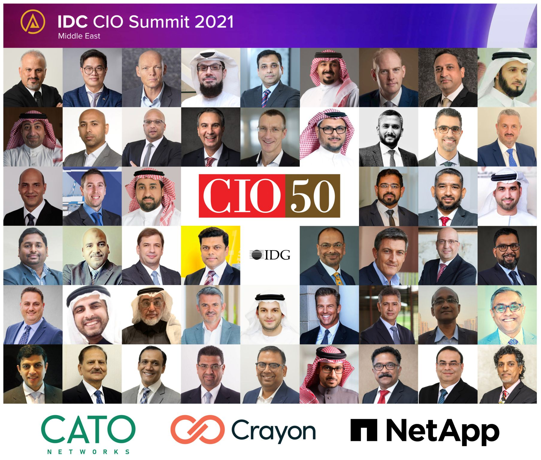 Middle East's Top CIO50 Innovation Leaders.  #7 is the most visionary Healthcare CIO, I've worked with.