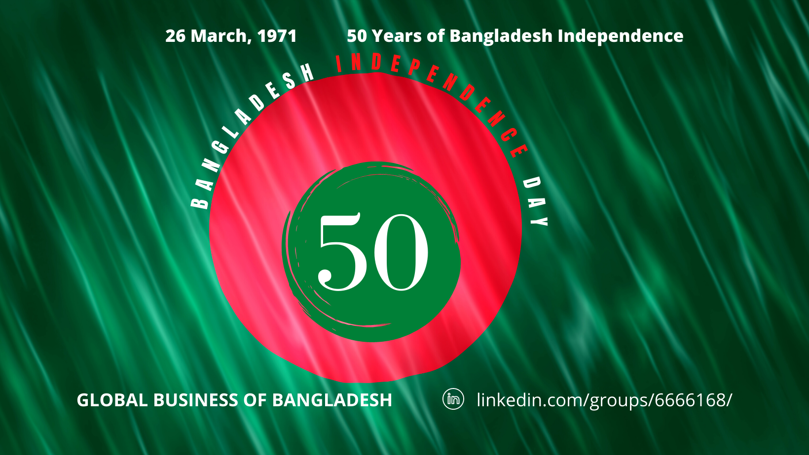 Bangladesh Independence Day: 50 years. 26 March 1972