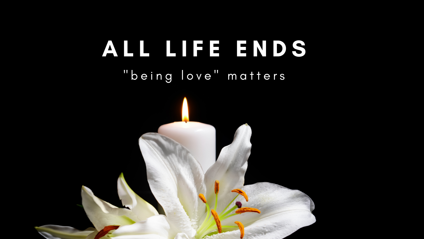 All Life's End, Being Love Matters
