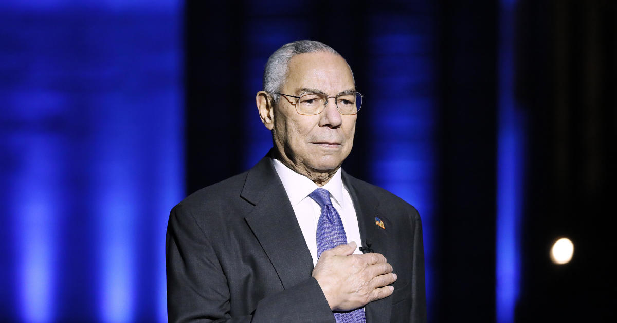 Remembering a Great Diplomat, Colin Powell Former US Secretary of State,  Retired 4 Star General